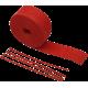 Kit bandaj Cycle protectie termica rosu 51mm x 7,6 m
